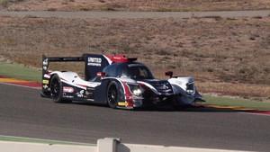 El segundo coche de United Autosports en el test