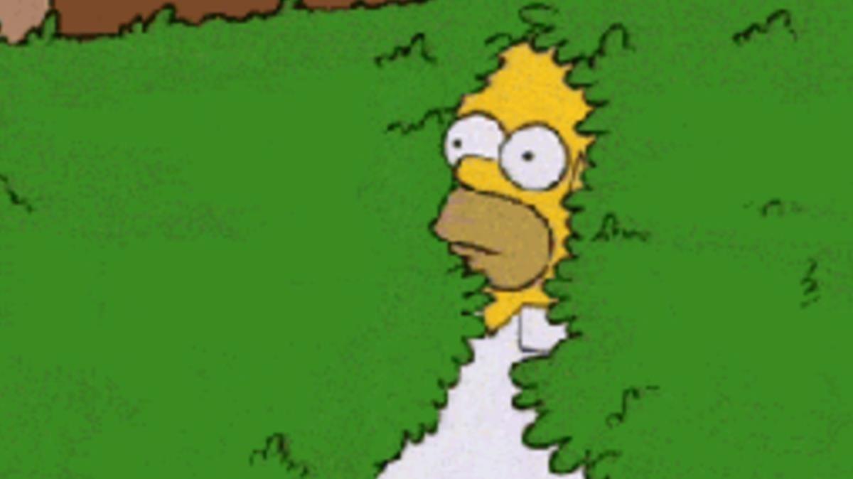 Gif protagonizado por Homer Simpson.