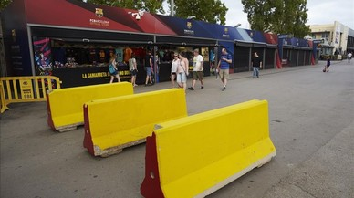 Futbol sense por al Camp Nou