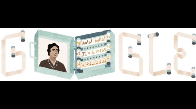 Ángela Ruiz Robles, protagonista a Google per ser la precursora del llibre electrònic