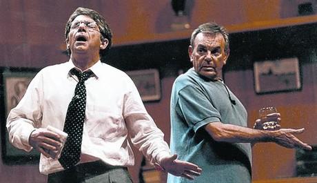 Joan Pere y Paco Morán, en 'La extraña pareja'.