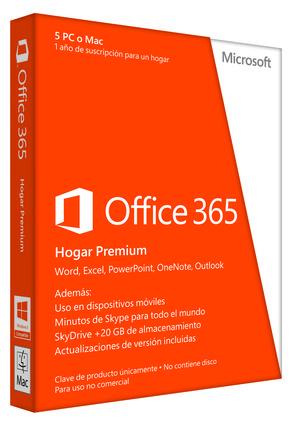 Microsoft lleva el nuevo Office 365 Hogar Premium a la nube