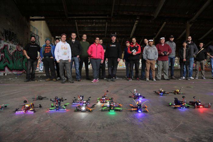 Espectaculars carreres de drons a Austràlia