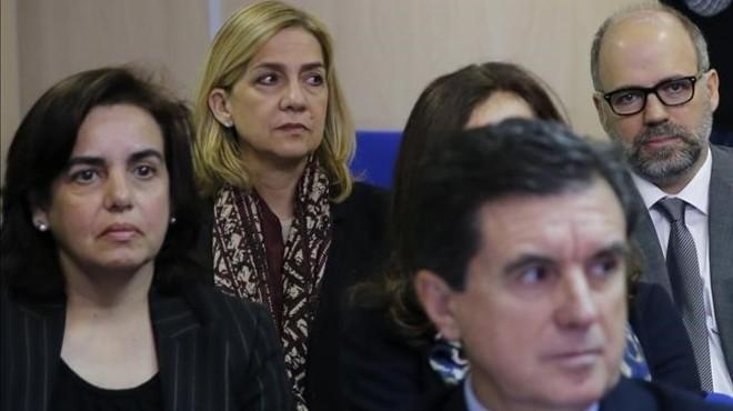 La infanta Cristina seguirà al banc dels acusats al negar-li l'Audiència de Palma la 'doctrina Botín'