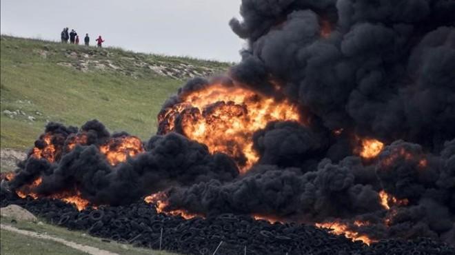 Acusat un empresari de l'incendi de l'abocador il·legal de Seseña