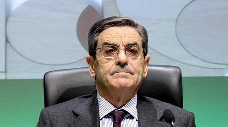 El dimitido presidente de Kutxabank, Mario Fernández, en una imagen del 2011.