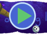 Imagen del 'doodle' dedicado al descubrimiento de los siete exoplanetas similares a la Tierra.