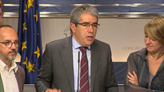 El PP, el PSOE i Ciutadans recolzen que el Suprem pugui jutjar Homs