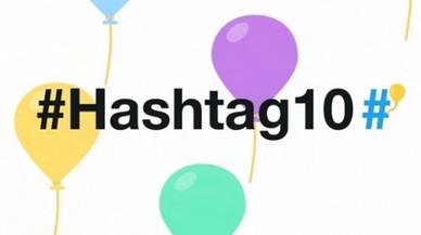 Twitter celebra 10 años del 'hashtag'