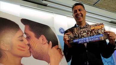 El PP reparteix petons contra l'independentisme