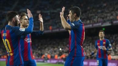 Victòria del Barça sense despentinar-se
