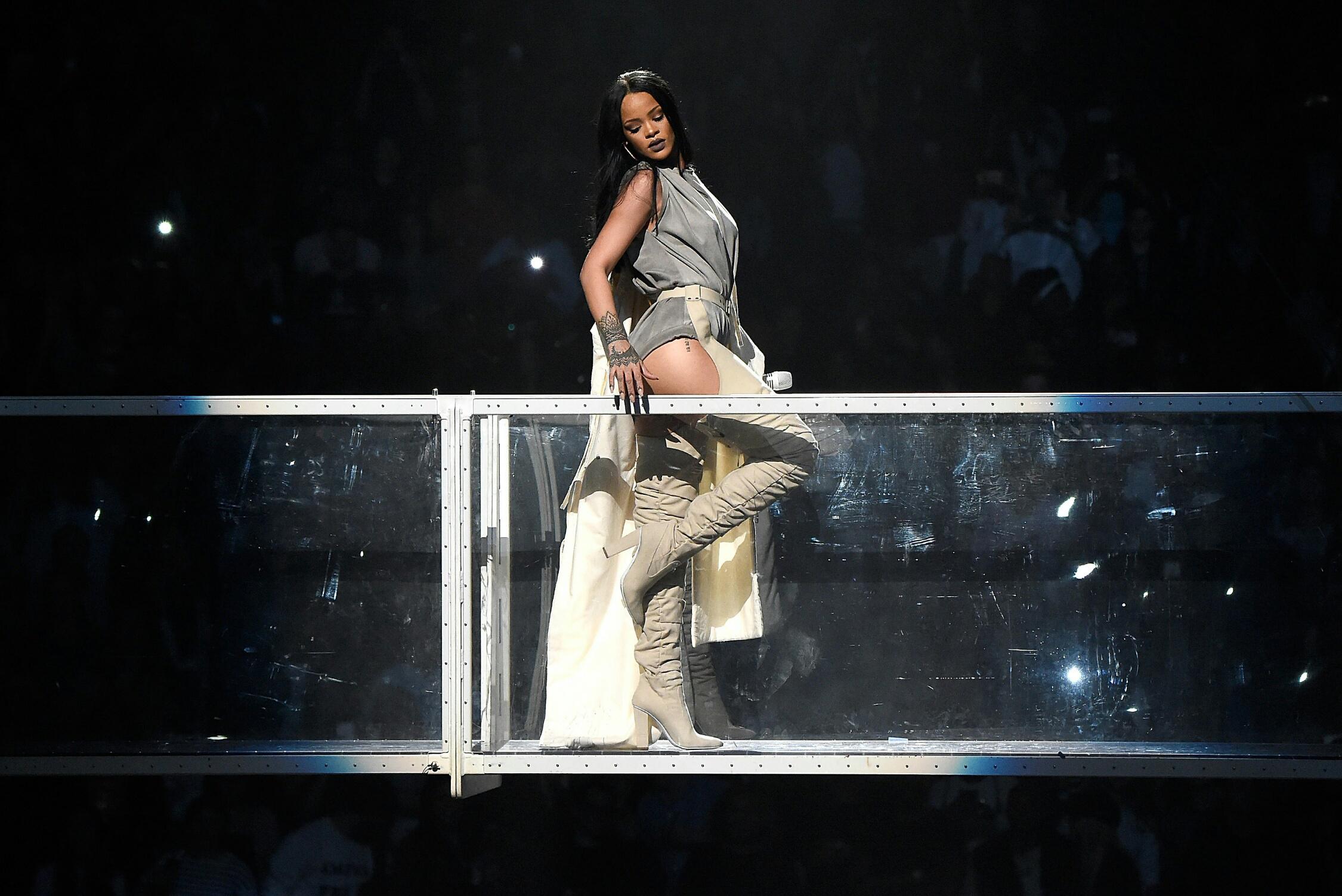 Noche loca con Rihanna