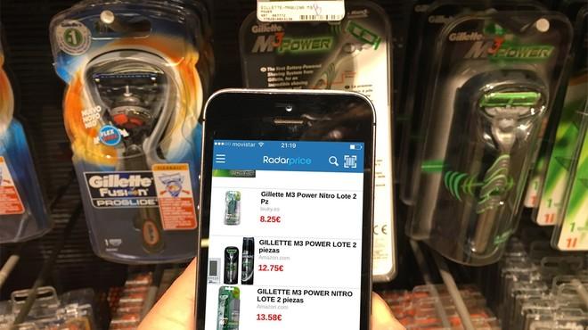 Radarprice permite ahorrar en la compra de art�culos de las tiendas m�s cercanas.