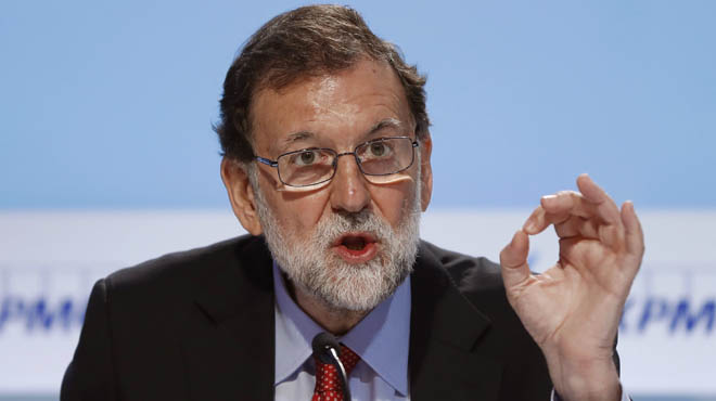 """Rajoy: """"No voy a autorizar ningún referéndum para la secesión porque ni puedo ni quiero"""""""