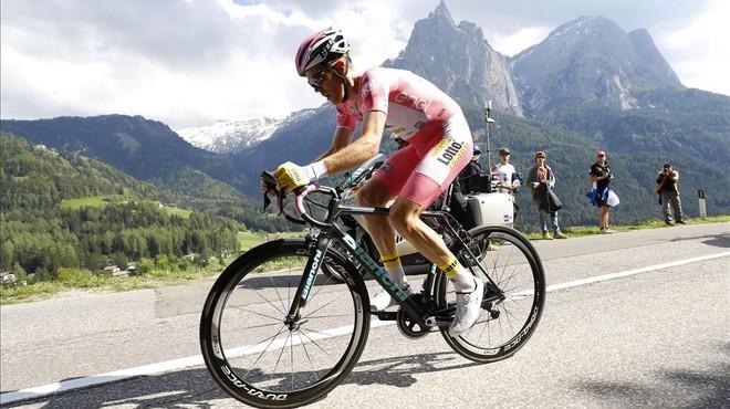 Valverde es recupera i Nibali falla