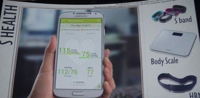El nuevo Galaxy S4 de Samsung monitoriza la salud del usuario