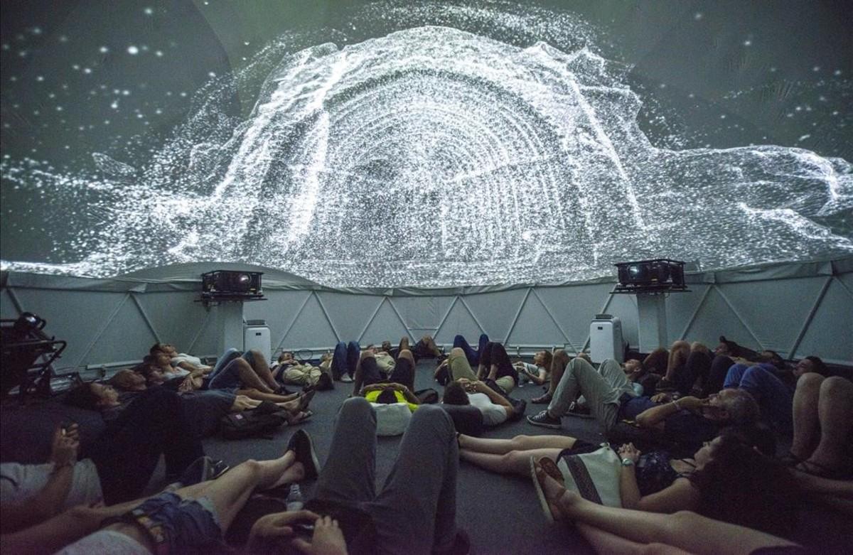 SONAR MarketLab en Sonar D donde se presentan varios proyectos en el Espacio 360 Movistar.