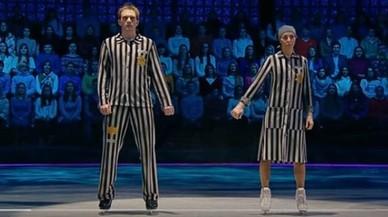 Revuelo en Rusia por un espectáculo sobre hielo sobre el Holocausto