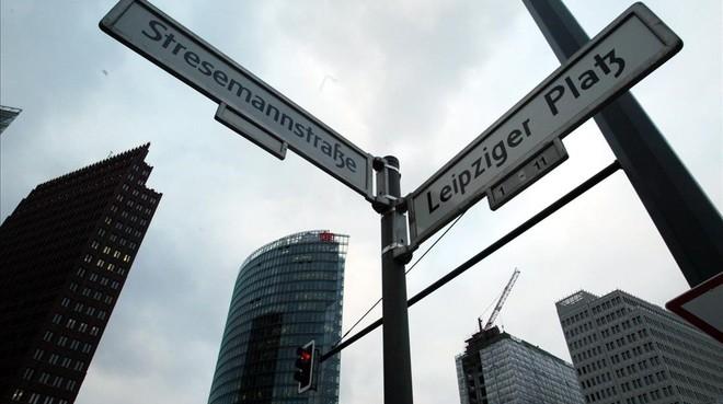 Postdamer Platz, el corazón de los negocios de Berlín.