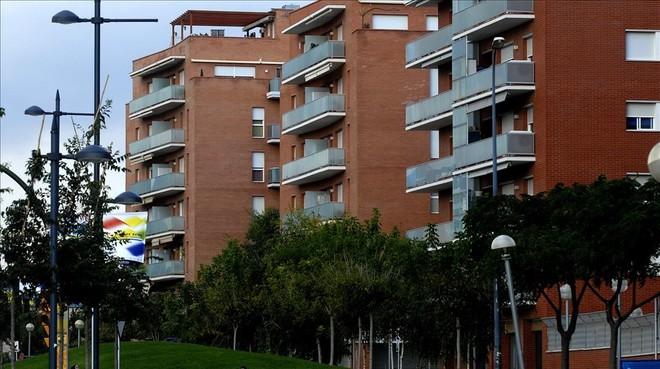 Bloque de viviendas en Reus.