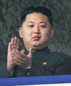 El hijo menor de Kim Jong-Il, Kim Jong-Un, durante los actos del 65º aniversario del Partido de los Trabajadores, el 10 de octubre del 2010.