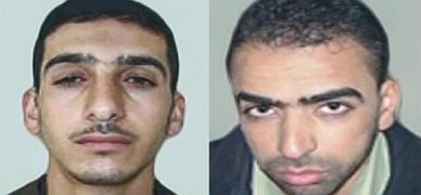 Los dos palestinos sospechosos de secuestrar y matar a los tres estudiantes israel�s.