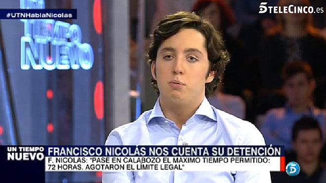 Francisco Nicol�s asegura que la vicepresidenta del Gobierno fue quien le invit� al balc�n de G�nova