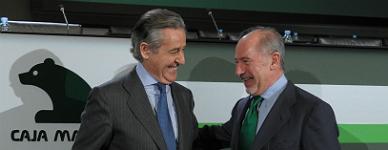 Miguel Blesa y Rodrigo Rato.