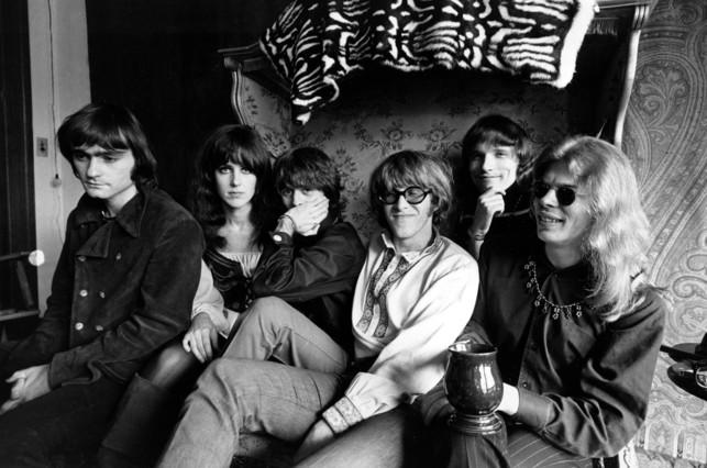 Los integrantes de Jefferson Airplane en una imagen de 1968. De izquierda a derecha, Marty Balin, Grace Slick, Spencer Dryden, Paul Kantner, Jorma Kaukonen y Jack Casady.
