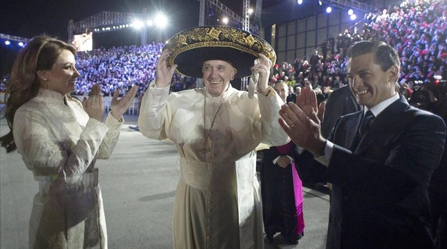 POPE mexico city mexic
