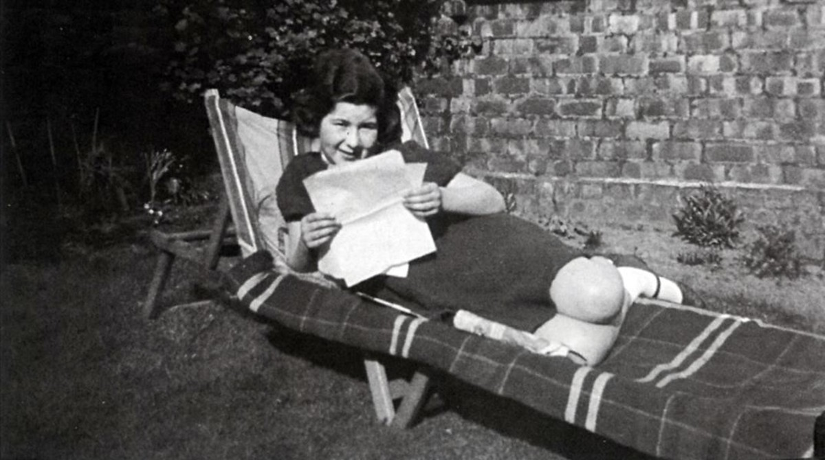 Catherine, en los años que estuvo refugiada en Inglaterra.