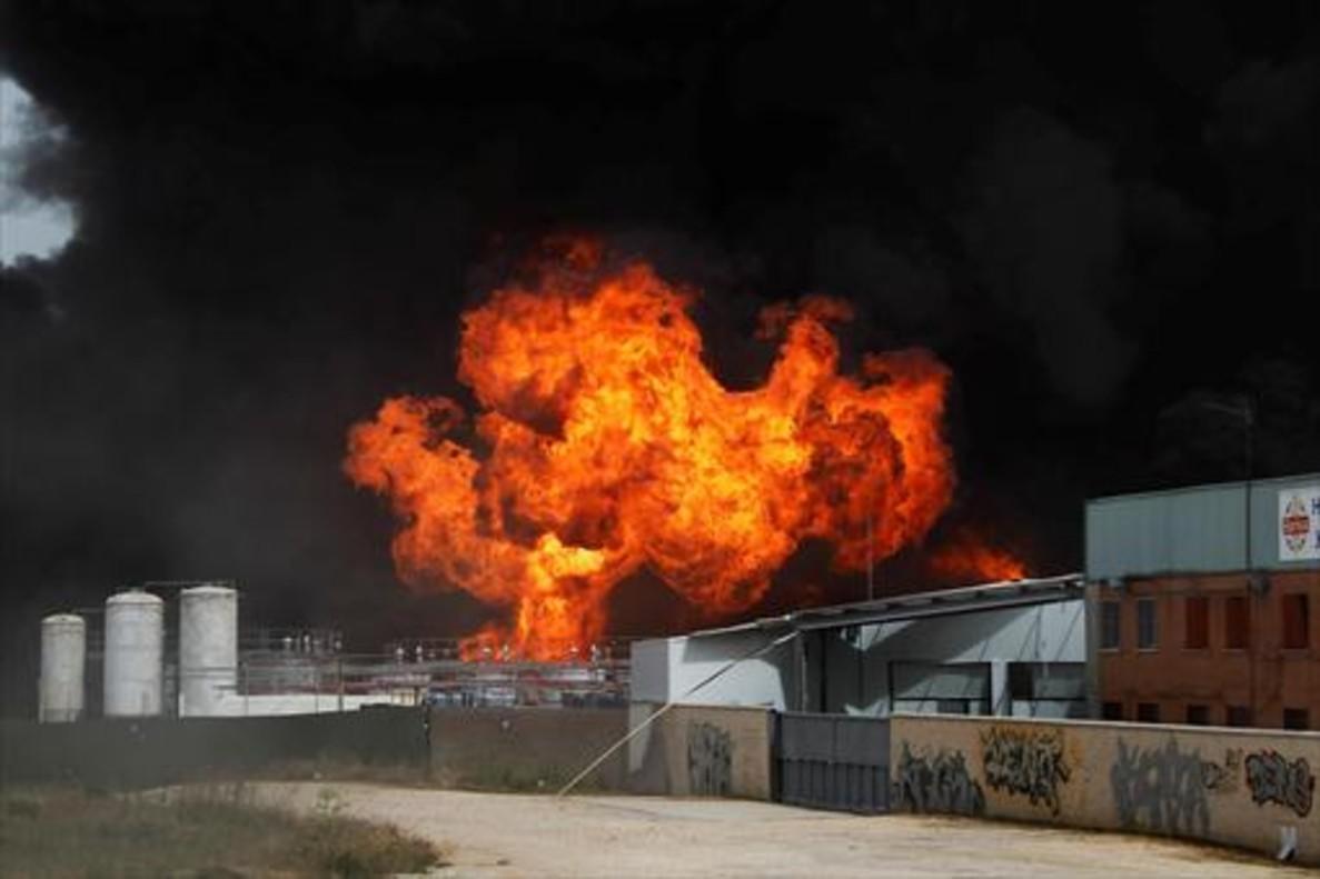 As fue la brutal explosi n que dej 35 heridos en arganda - Que ver en arganda del rey ...