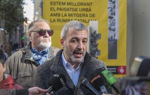 Collboni defiende las opciones de Barcelona para acoger la AEM