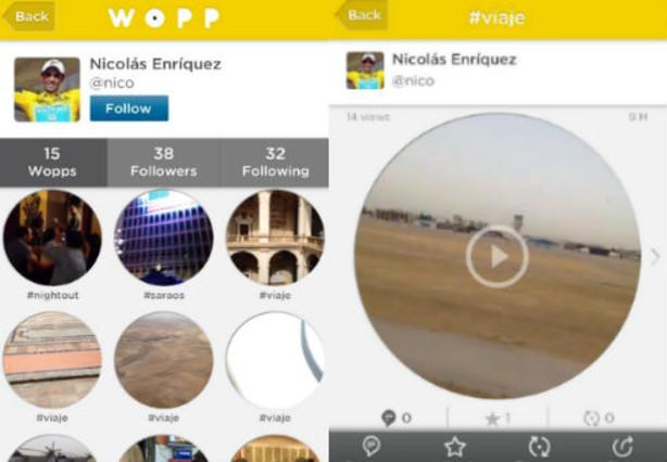 Wopp, la nueva red social para grabar y compartir v�deos