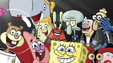 Imagen promocional de la serie de dibujos animados 'Bob Esponja', del canal de pago Nickelodeon.