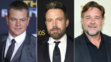 Matt Damon, Ben Affleck i Russell Crowe, acusats d'encobrir Harvey Weinstein