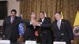 Santos i Maduro van arribar a un principi d'acord per solucionar els greus problemes fronterers