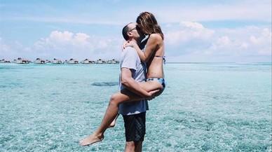 Risto Mejide i Laura Escanes exhibeixen tota la seva passió a les illes Maldives