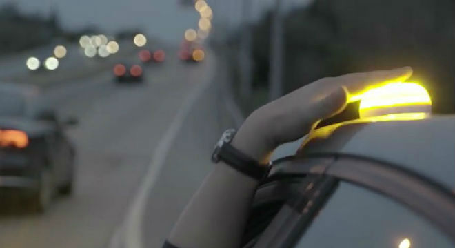 Help Flash, el nuevo dispositivo luminoso para salvar vidas en las carreteras