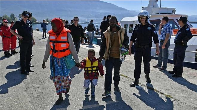 L'ACNUR confirma 500 morts en un naufragi al Mediterrani