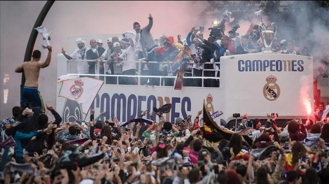 Així serà la celebració de la 'undécima' del Reial Madrid
