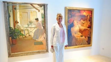 """Tita Cervera: """"Ja no puc comprar quadros a l'estranger"""""""