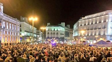 """Manifestacion espontanea en Madrid contra la """"impunidad"""" judicial"""