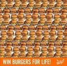 Cartel del concurso de la cadena de restaurantes Sr.Burger