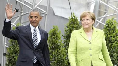 "Obama, sobre Trump: ""No podemos escondernos detrás de un muro"""