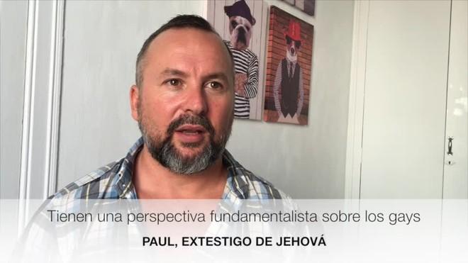 """Paul Marshall, extestimoni de Jehovà: """"Els preocupen més els gais que els pederastes"""""""