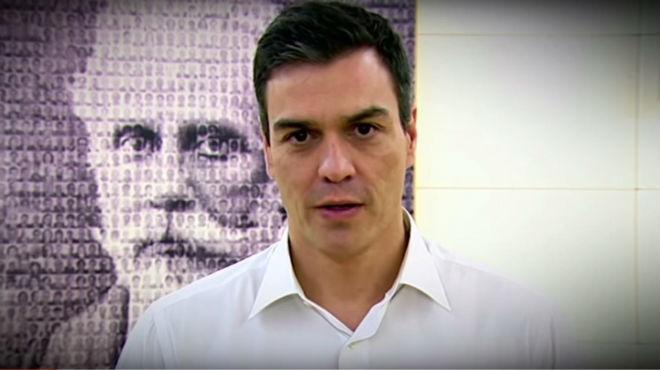 Pedro Sánchez, en el vídeo a la militancia sobre la consulta de este sábado.