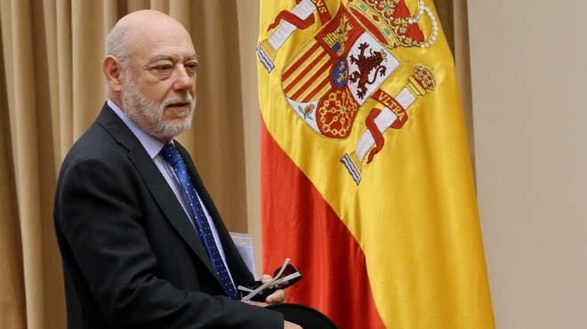 El fiscal en cap Anticorrupció, Manuel Moix, ha rellevat, per ordre del fiscal general de l'Estat, José Manuel Maza.