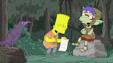 'Los Simpson' se ríe de 'Juego de Tronos'