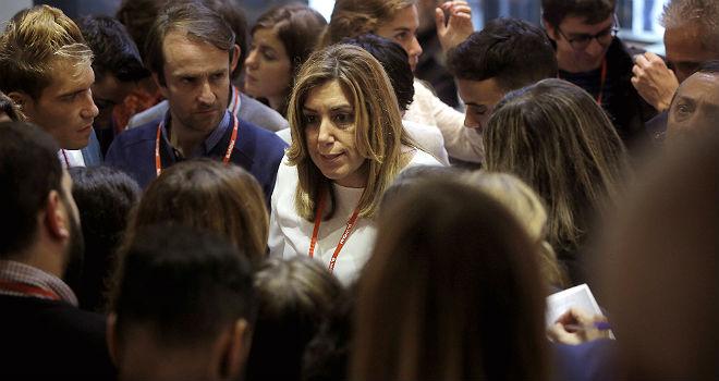 Susana D�az, en el comit� federal del PSOE